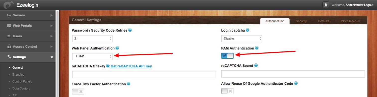 How do i configure Ezeelogin to authenticate using OpenLdap
