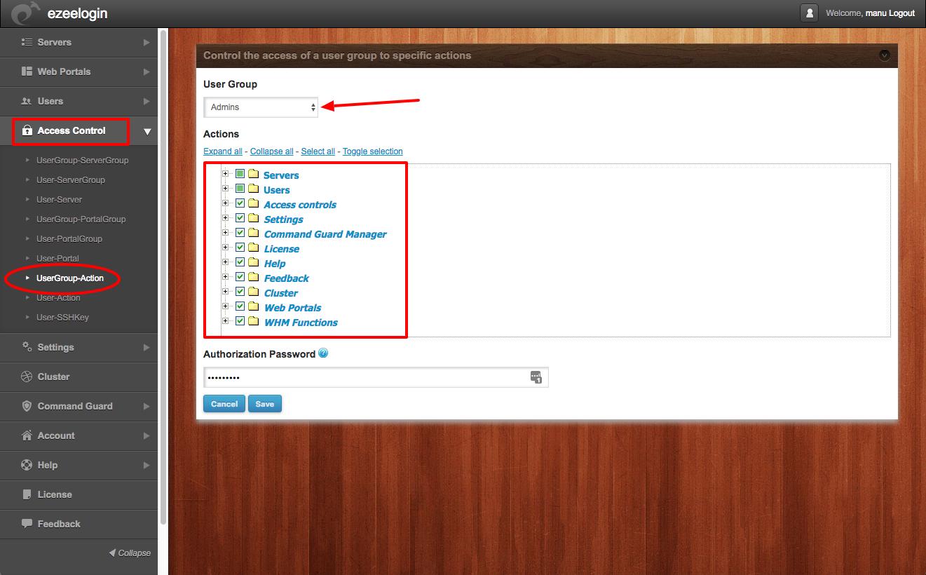 Create more admin users in jump server?
