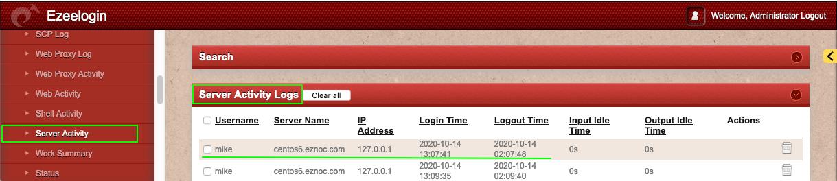 ezeelogin-serveractivity-elk