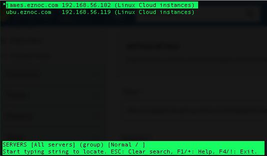 backend server listing