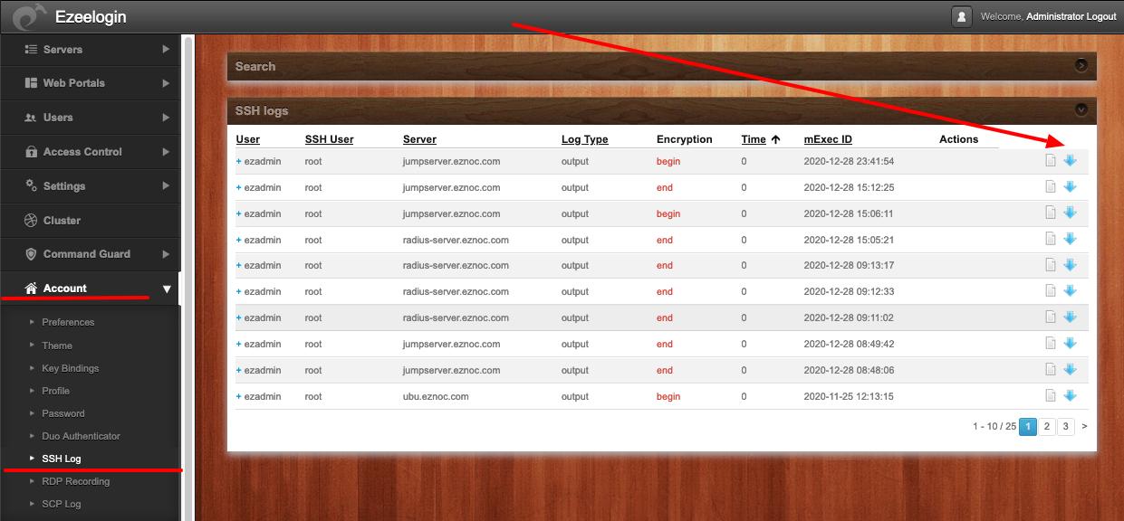 users-ssh-logs